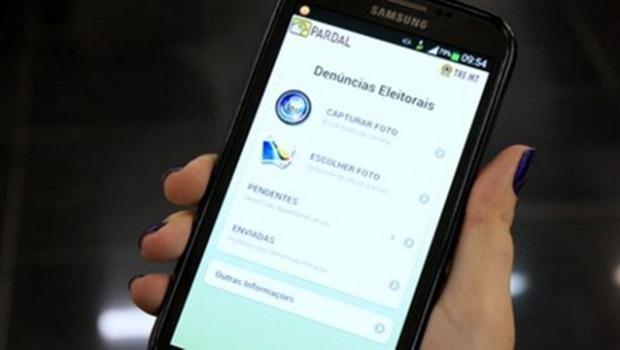 Aplicativo recebeu mais de 30 mil denúncias em todo o País   Foto: Reprodução / TRE