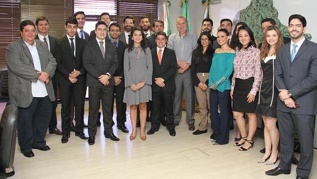 Paulo Garcia se reúne com procuradores do município   Foto: Ângela Macário