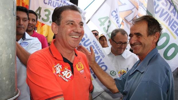 Marcelo Augusto diz que Vanderlan Cardoso vai para o segundo turno em primeiro lugar