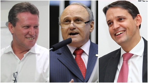 Giuseppe Vecci, Valdivino Oliveira e Thiago Peixoto
