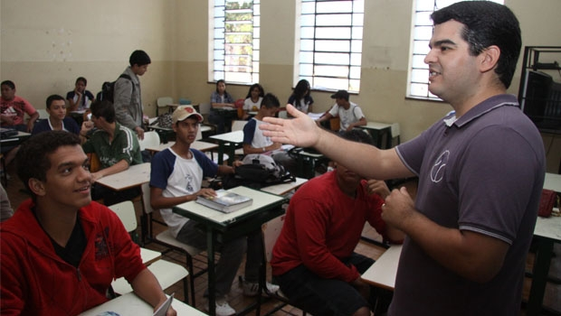 Reforma proposta pelo governo  federal pode melhorar a educação, ajudando a tirar o país de posições vexaminosas nos rankings internacionais   Foto: Fernando Leite/Jornal Opção