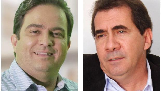 """Roberto do Orion, do PTB, e João Gomes, do PT: o """"Eleitor Invisível"""" fez das suas em Anápolis, puxando  o favorito para baixo e abrindo espaço para o novo. O partido do segundo colaborou para """"derrubá-lo"""""""