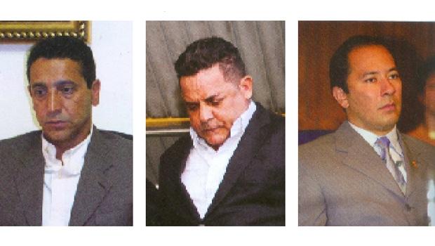 """Sérgio """"Sombra"""" Gomes da Silva, Ronan Maria Pinto e Klinger Luiz de Oliveira Souza: as investigações do Ministério Público e a conclusão da Justiça demonstraram que os três mosqueteiros operavam o caixa três na Prefeitura de Sandro André"""
