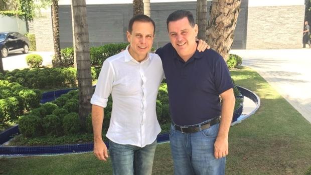 Marconi Perillo reuniu-se com João Doria em seu escritório político, em São Paulo | Foto: Divulgação