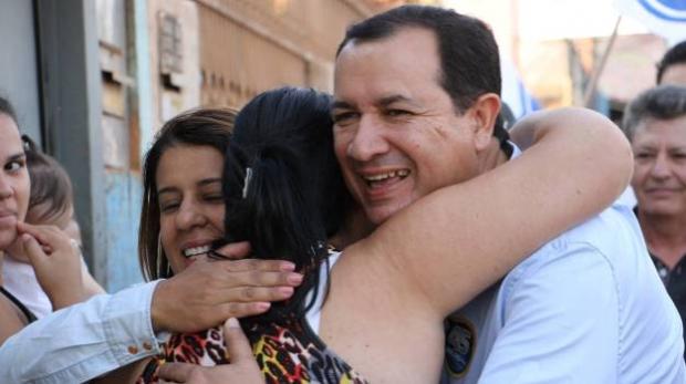 Prefeito Hildo do Candango (PSDB) é reeleito com ampla vantagem em Águas Lindas de Goiás   Foto; Divulgação/Facebook