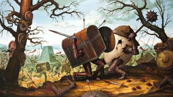 Pintura de Mike Davis