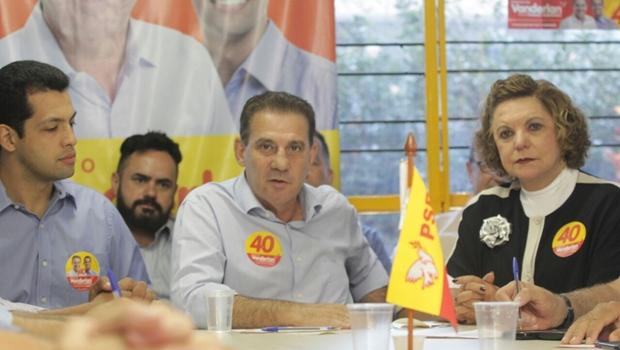 Vanderlan inicia campanha para segundo turno focado em mostrar mais propostas