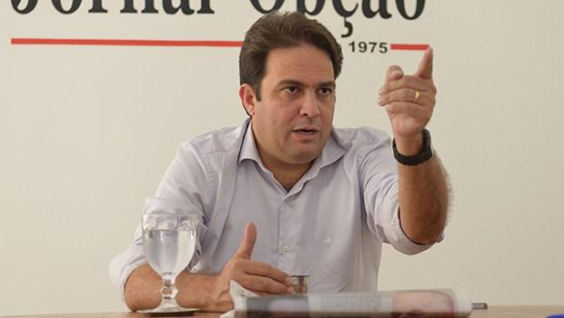 Candidato pela primeira vez em Anápolis, Roberto conseguiu votação expressiva e enfrenta atual prefeito no segundo turno   Foto: André Costa
