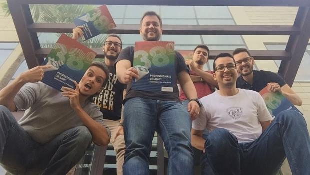 Equipe da AMP comemora prêmio | Foto: reprodução