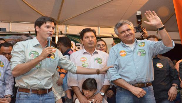 Caiado deve apostar em dissidência de Iris Rezende contra o candidato dos Vilelas a governador