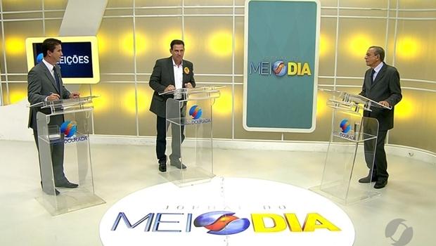 Debate 2º turno Goiânia TV Serra Dourada | Foto: reprodução/Twitter