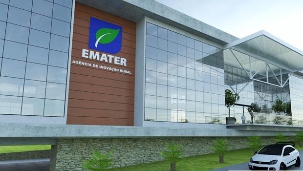 Projeto da nova sede da Emater Goiás | Foto: Reprodução