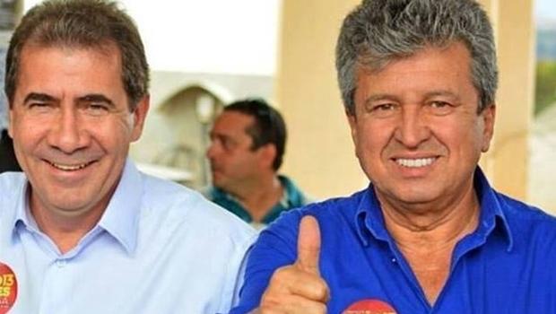 João Gomes e seu vice, Eli Rosa