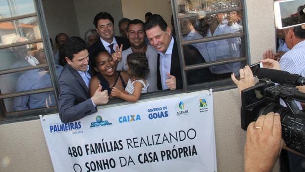 Presidente Temer lança programa inspirado no Cheque Mais Moradia do governo de Goiás