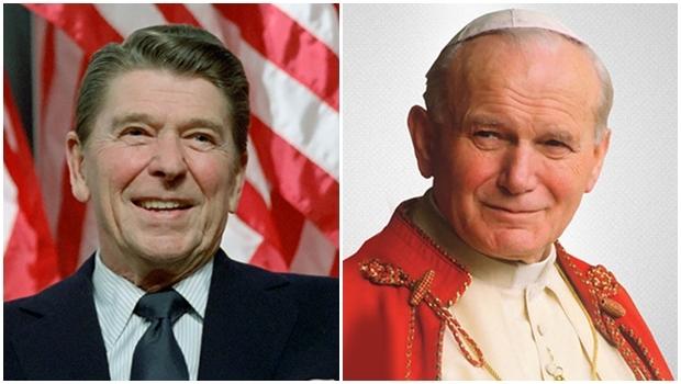Ronald Reagan, presidente dos Estados Unidos, e o papa João Paulo 2º foram baleados, em 1981, apesar dos aparatos de segurança que os protegiam