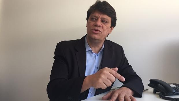 Kelson Vilarinho (PSD) foi reeleito em Cachoeira Alta,  um dos poucos prefeitos da região sudoeste do Estado que conseguiram mais quatro anos de mandato   Foto: Alexandre Parrode