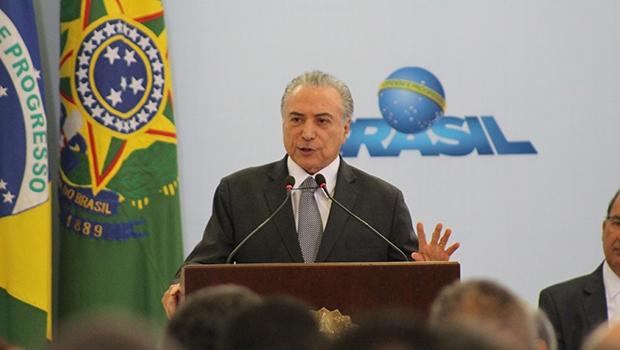Presidente da República, Michel Temer   Foto: Bruna Aidar/Jornal Opção