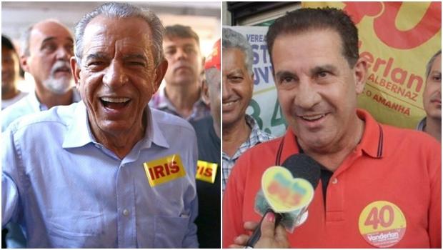 Iris Rezende e Vanderlan Cardoso | Foto: Divulgação