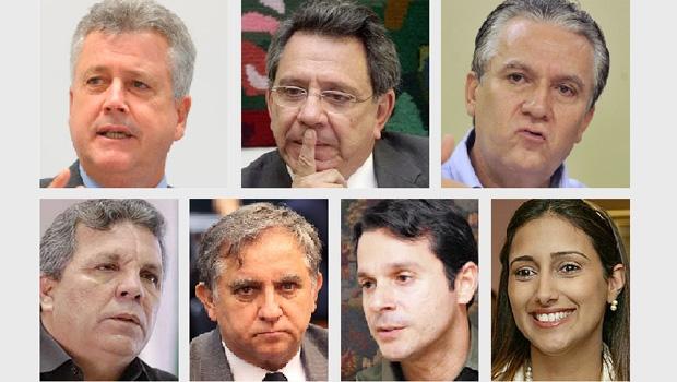 Rodrigo Rollemberg, Tadeu Filippelli, Geraldo Magella, Alberto Fraga, Izalci Lucas, José Reguffe e Flávia Arruda: são alguns dos prováveis postulantes ao governo do Distrito Federal. Mas não empolgam