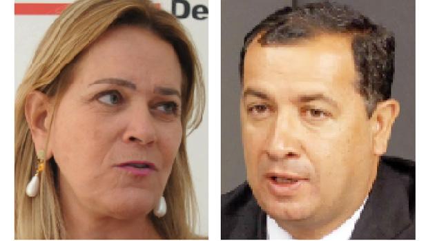 Lêda Borges e Hildo do Candango: um deles pode ser vice de José Eliton em 2018