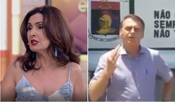 Bolsonaro está certo contra Fátima Bernardes: é preciso tratar primeiro o policial, não o bandido