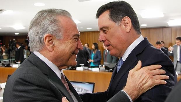 Marconi articula manutenção de apoio do PSDB a Temer