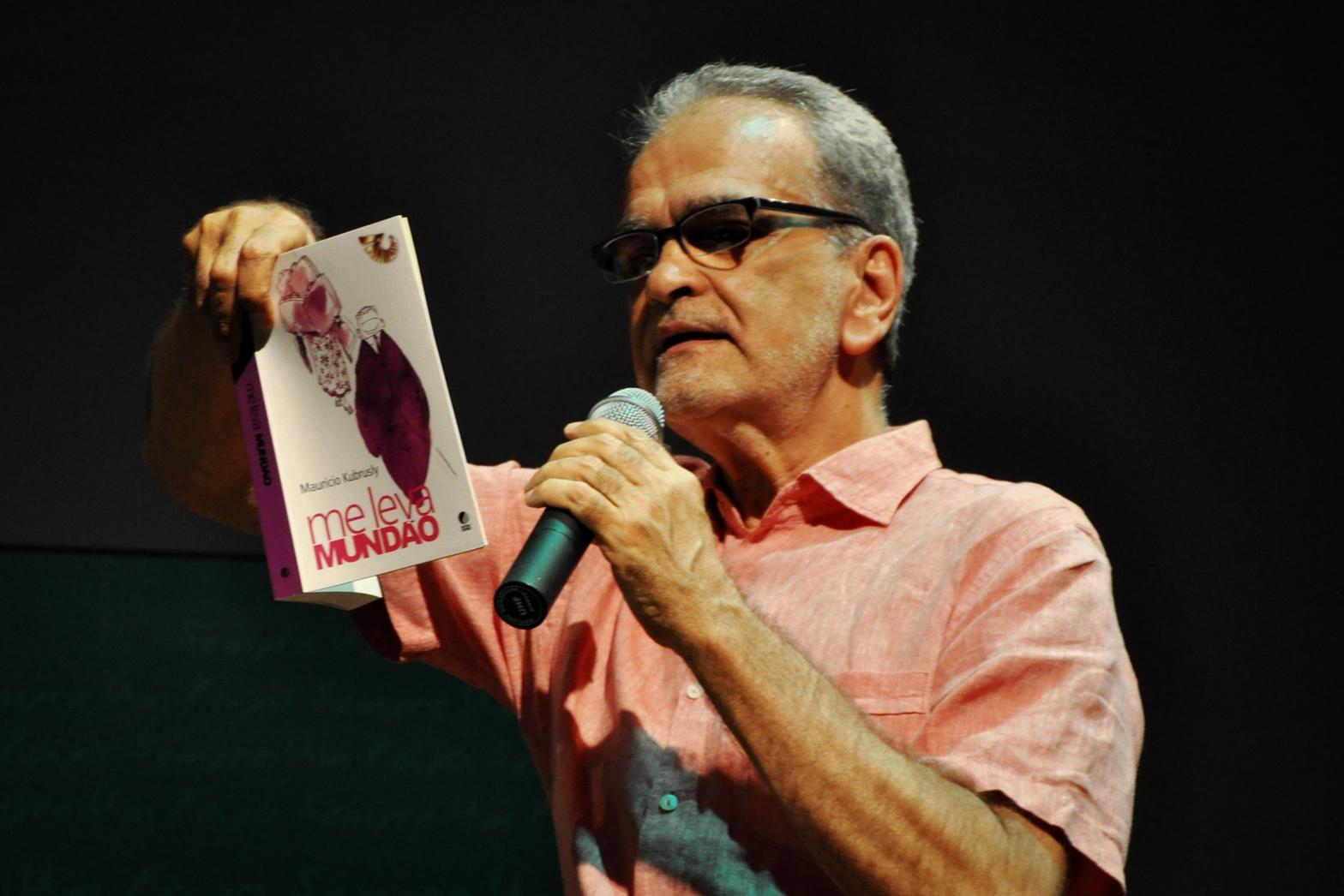 Maurício Kubrusly diz que se recupera bem de infarto