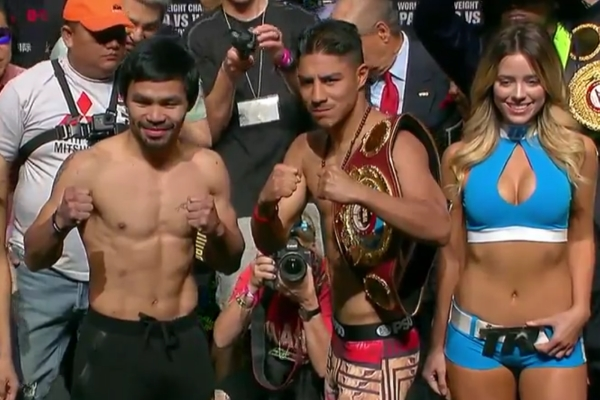Manny Pacquiao, o fenomenal boxeador das Filipinas, vai lutar contra Jessie Vargas, cujo maior talento é ser jovem