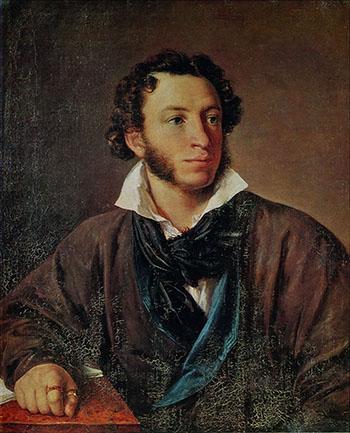 Considerado o maior poeta russo e apontado como precursor da literatura moderna no país, Alexandr Púchkin nasceu em 1799, em Moscou, e faleceu em 1837, em São Petersburgo | Foto: Divulgação