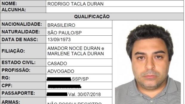 Advogado alvo da Lava Jato é preso na Espanha