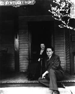 Thomas Wolfe e sua mãe, Júlia
