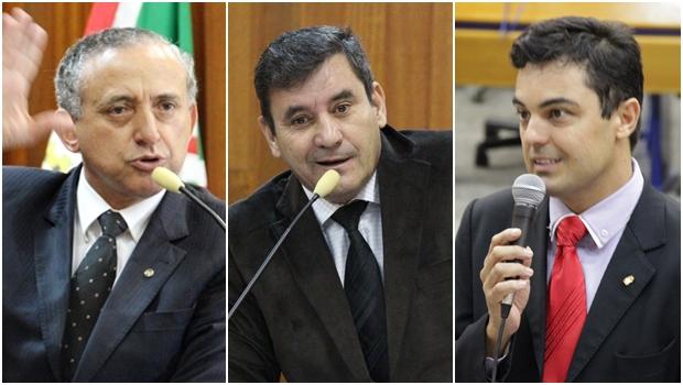 Disputa pela presidência da Câmara está entre Anselmo, Clécio e Paulinho Graus
