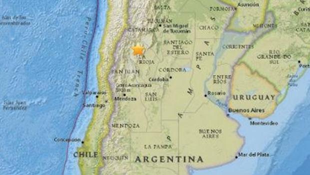 Forte tremor atinge região noroeste da Argentina