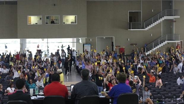 Professores da UFG realizam consulta eletrônica para votar greve