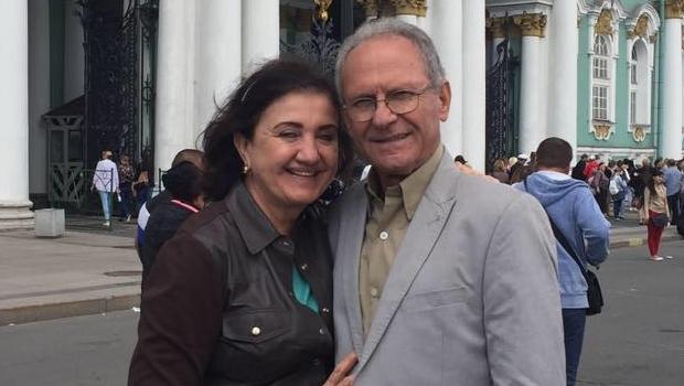 Cida e Chico Tomazini | Foto: reprodução
