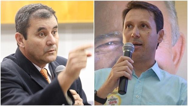 Clécio Alves e Andrey Azeredo