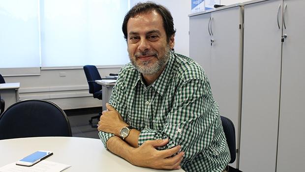 """Décio Coutinho, analista do Sebrae: """"Economia criativa é a economia do século XXI""""  Foto: Bruna Aidar/ Jornal Opção"""