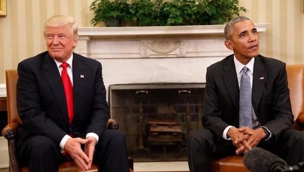 Donald Trump e Barack Obama: os dois defendem o primado do Império americano, o que varia é a retórica | Foto: Divulgação/Facebook