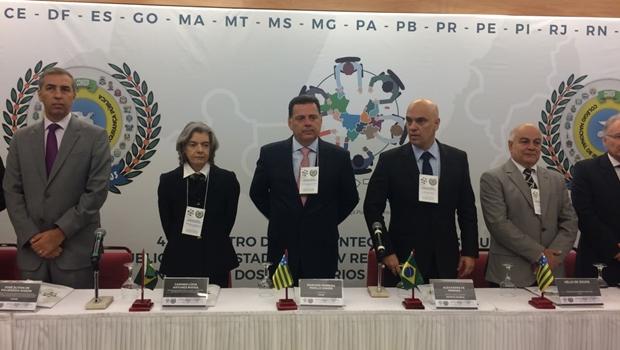 Em Goiânia, presidente do STF e ministro da Justiça participam de evento sobre segurança pública