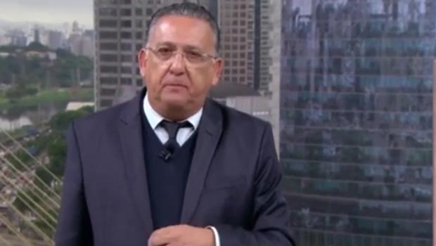 Galvão Bueno passa mal, é operado e não narra Flamengo e River na Libertadores