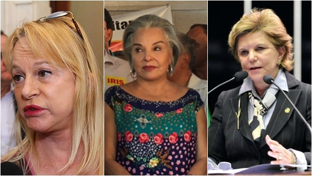 Magda Moffato, Dona Íris e Lúcia Vânia
