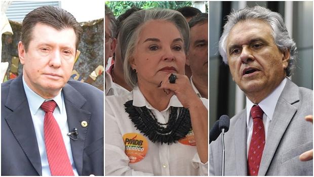 Não convidem José Nelto, Iris Araújo e Ronaldo Caiado para comer picanha. Pode sair sangue