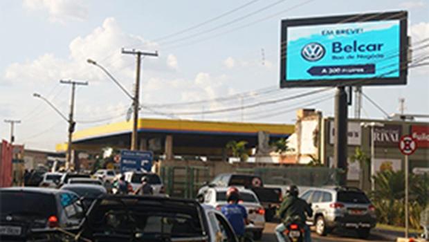 Segmento publicitário pede redução de altura mínima para outdoors em Goiânia