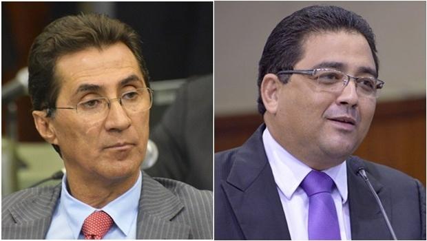 Deputados Chiquinho Oliveira e Talles Barreto   Arquivo