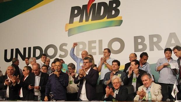Convenção nacional do PMDB em março de 2016   Foto: Divulgação