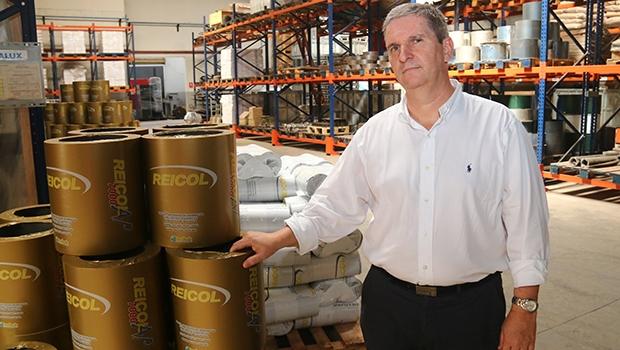 Rubens Luiz é a 2ª geração à frente da Reicol e já prepara os filhos para assumirem o negócio, que inclui duas indústrias