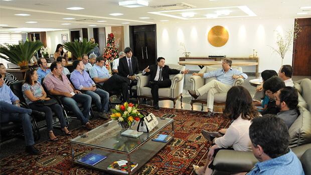 Miranda e Damaso se reúnem com representantes do setor produtivo