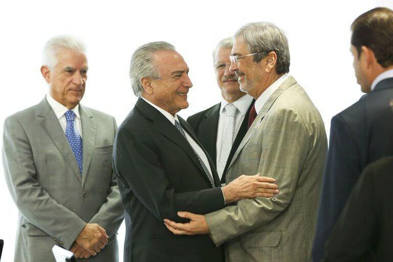 Imbassahy, novo ministro do Governo de Temer, é forte interlocutor de Marconi Perillo