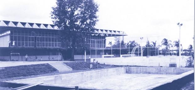 A sede da Associação Médica de Goiás: em fase de construção