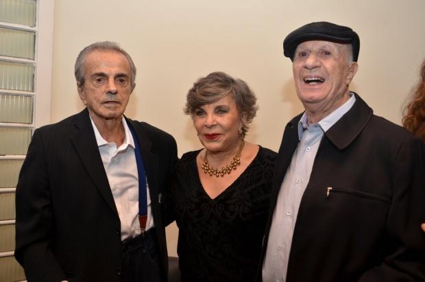 Nabyh Salum, Marlene Salum e Luiz Rassi